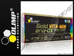 Gold Vita-Min Anti-OX Super Sport 60 kap