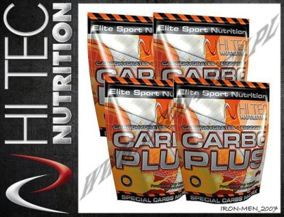 HI TEC - Carbo Plus 4x1000 g