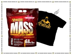 PVL Mutant Mass 6800g+T-shirt gratis