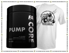 FA Nutrition CORE PumpCORE - 500g+ T-shirt