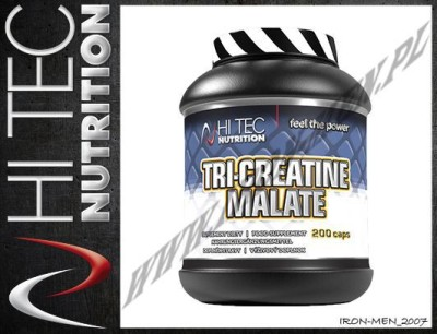 HI-TEC TRI CREATINE MALATE POWDER TCM 250g