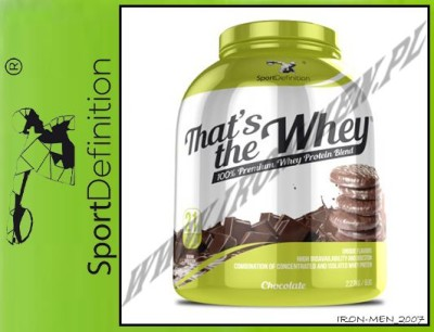 SportDefinition That's The Whey 2270 g