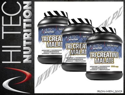 HI-TEC Tri Creatine Malate 600 kap