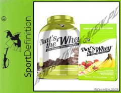 SportDefinition That's The Whey 2270 g+700g GRATIS