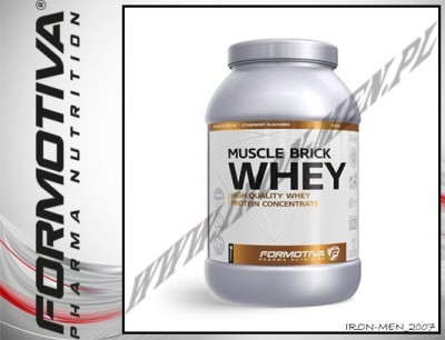 FORMOTIVA PHARMA NUTRITION MUSCLE BRICK WHEY 2100g