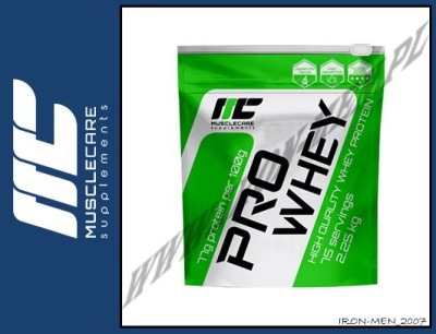 MUSCLE CARE PRO WHEY 2250g