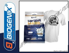 BIOGENIX MONSTER MASS 2.0 6800g+T-SHIRT