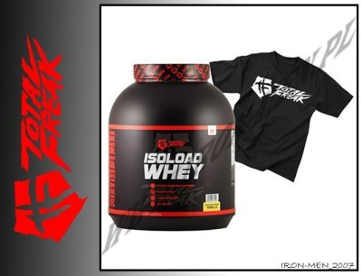TOTAL FREAK ISOLOAD WHEY 2270g+T-SHIRT