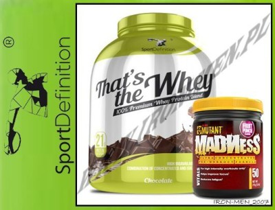 SPORTDEFINITION  That's The Whey 2270g+Madness 275g