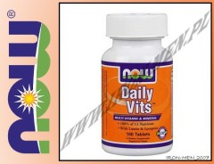 NOW FOODS DAILY VITS 100 tab