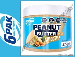 6PAK NUTRITION PEANUT BUTTER SMOOTH 275gram