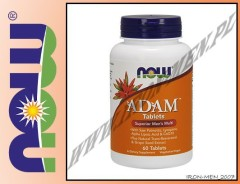 NOW FOODS ADAM MULTI-VITAMIN FOR MEN 60tab