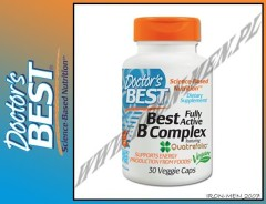 DOCTOR'S BEST BEST FULLY ACTIVE B-COMPLEX 30kap