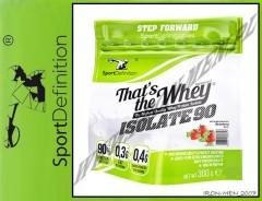 SPORTDEFINITION THATS THE WHEY ISOLATE 300g