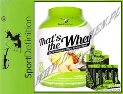 SPORTDEFINITION THAT'S THE WHEY 2275g+12xPUMP KICK 80ml GRATIS