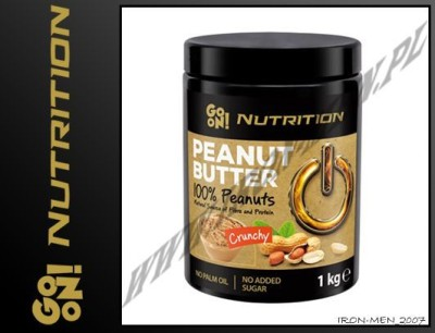 GO ON NUTRITION PEANUT BUTTER CRUNCHY 1000g