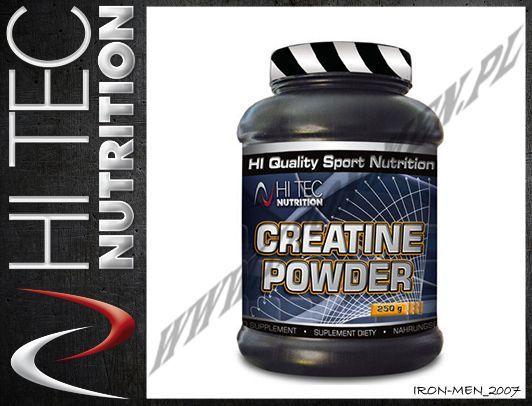 najniższa zniżka świetna jakość butik wyprzedażowy HI TEC Creatine Powder 250g Suplementy dla sportowców ...