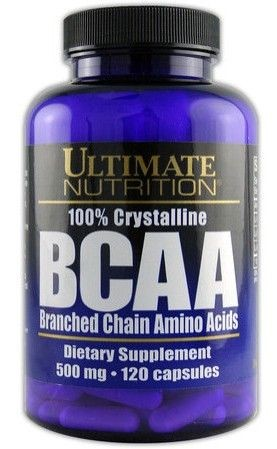 Ultimate BCAA 500 mg - 120 kaps